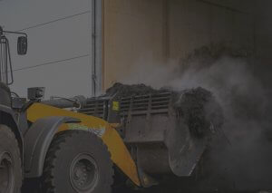 Composting tractor