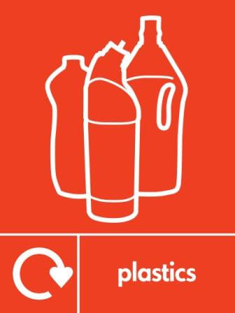 Plastics recycling icon