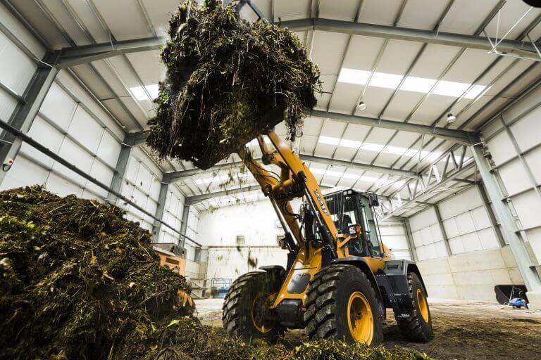Organic Waste tractor