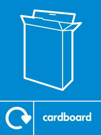 Cardboard Recycling Icon