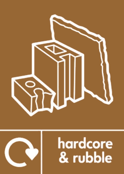 Hardcore recycling icon