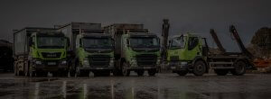 Wastewise recycling lorries