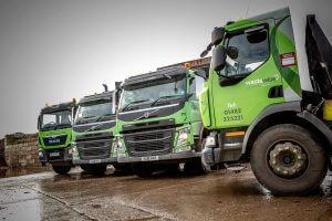 Wastewise waste collection trucks